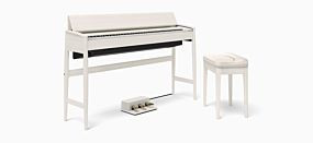 Roland KF-10 Sheer White Digital Piano
