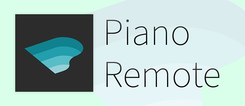"""PianoRemote"" Digitalpiano App iOS:lle ja Androidille"